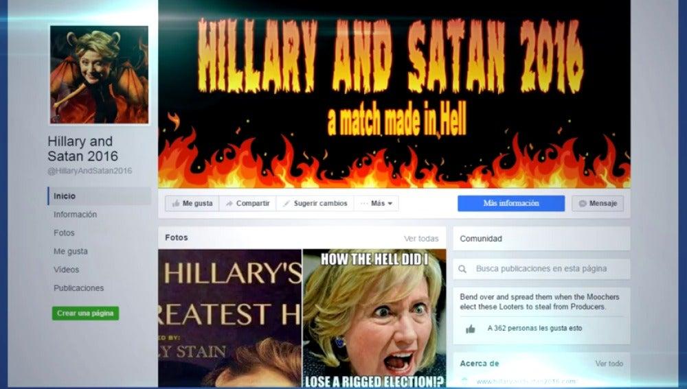 Frame 2.518842 de: Los servicios de inteligencia confirman que hackers rusos pagaron campañas en redes sociales para destruir la imagen de Hillary