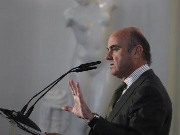El ministro de Economía, Industria y Competitividad, Luis de Duindos