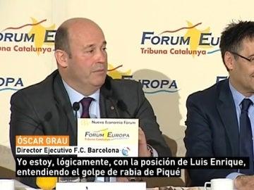 Óscar Grau, director ejecutivo del Barcelona
