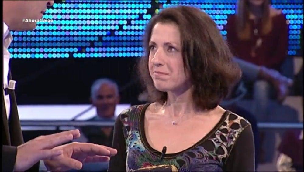 Frame 22.577777 de: Cristina vuelve a '¡Ahora Caigo!' para cumplir un sueño