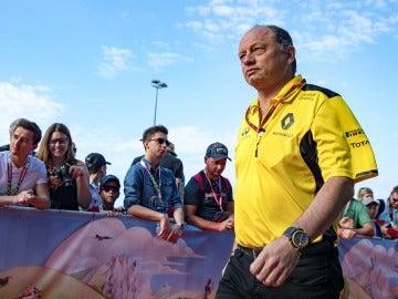 Frederic Vasseur, ya exjefe de equipo de Renault