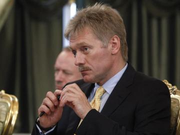 El portavoz del Kremlin, Dmitri Peskov