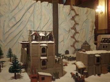 El Muro de 'Juego de Tronos' con Playmobil