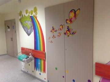 Área de pediatría del Hospital Infanta Sofía