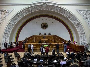 Vista general de una sesión de la Asamblea Nacional