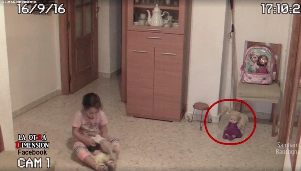 Imagen del vídeo grabado