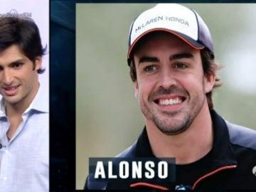 ¿Cuál esa el mote que le ha puesto Sainz a Alonso?