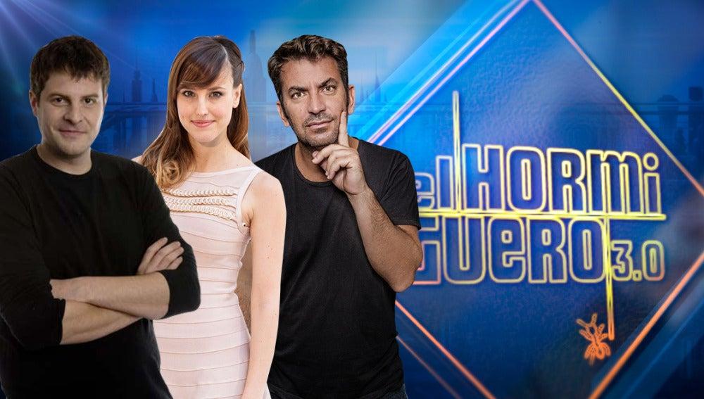 Arturo Valls, Natalia de Molina y Raúl Cimas