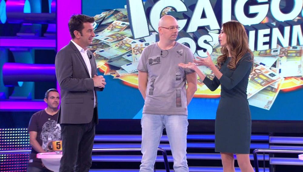 Alberto quiere doblar los 100.000 euros que un día se llevó