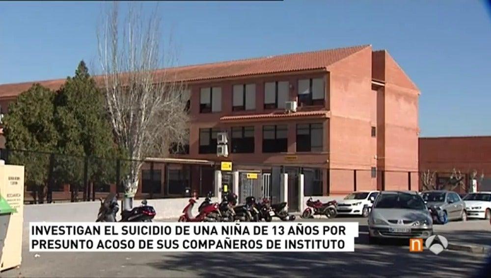 Frame 66.061666 de: La Policía investiga el suicidio de una niña de 13 años en Murcia, presunta víctima de acoso escolar