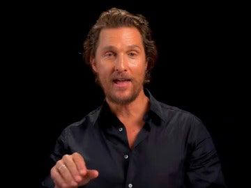 Matthew McConaughey, uno de los protagonistas del vídeo