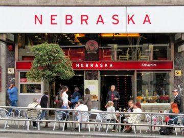 Cafetería Nebraska, en Gran Vía