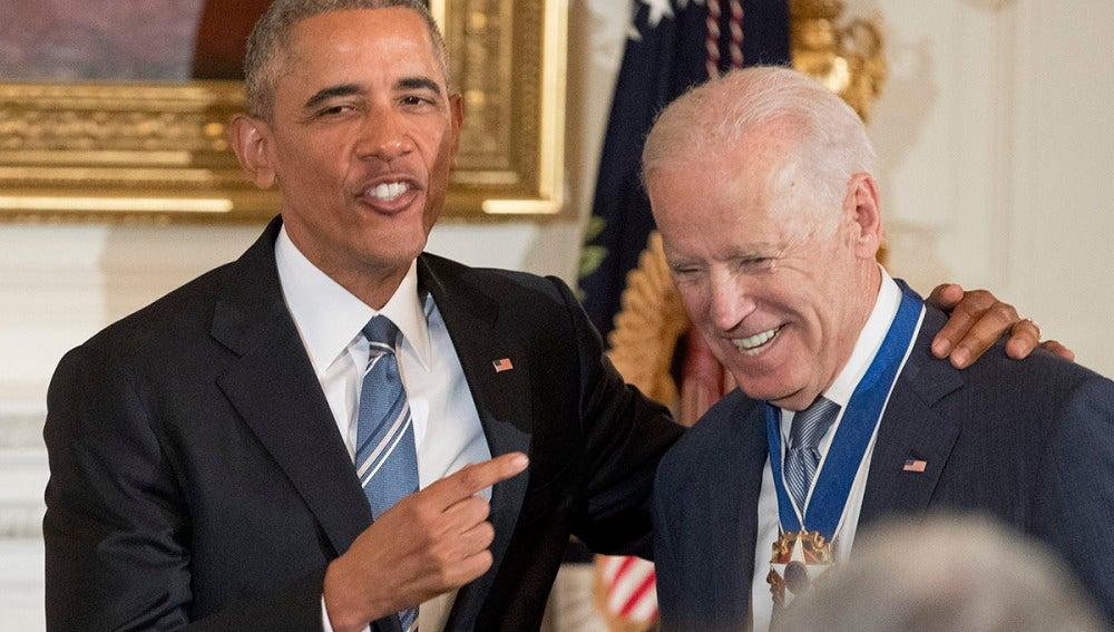Obama concede la Medalla de la Libertad a Joe Biden