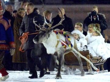 Bottas, en la boda de Hakkinen