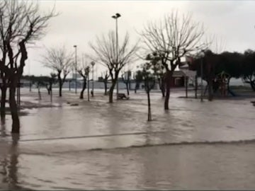 Desbordamientos en Murcia