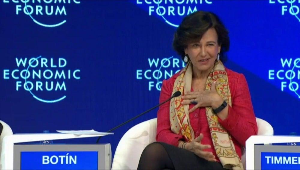 Ana Botín, contra los estereotipos sobre los españoles