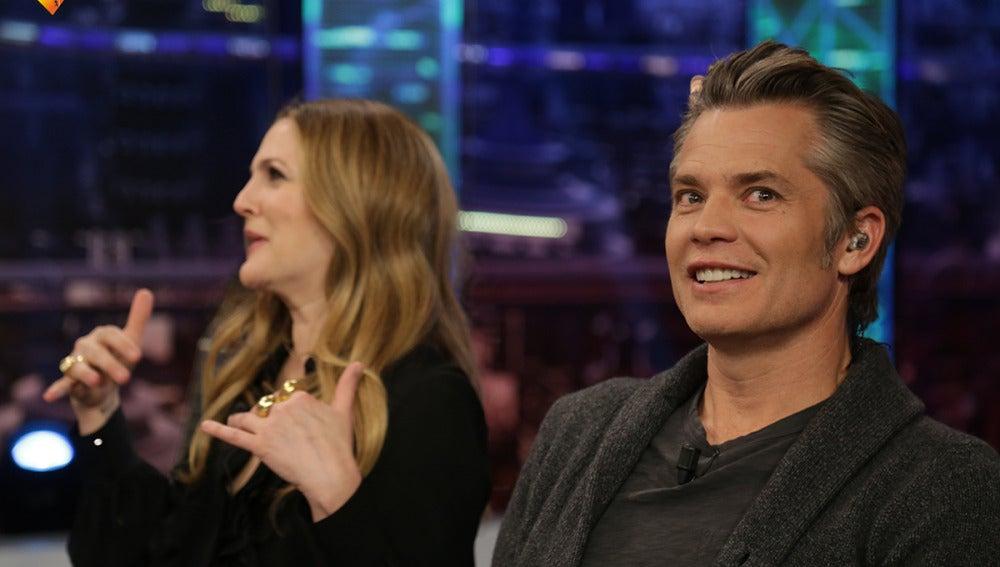 """Timothy Olyphant: """"Drew Barrymore es la persona más auténtica que conozco"""""""