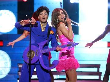 Blas Cantó y Roko imitan a Prince y Beyoncé