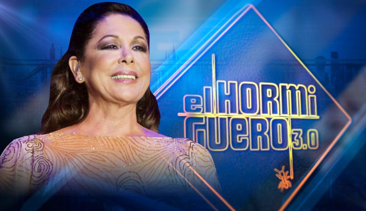 Isabel Pantoja visita 'El Hormiguero 3.0'