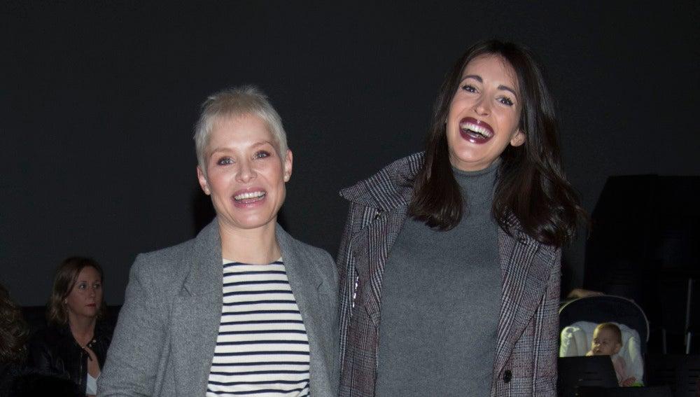 Nuestra bloguera Noelia López y Soraya, dos futuras mamás muy fashion