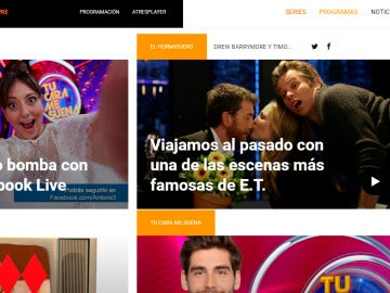 Portada Antena 3