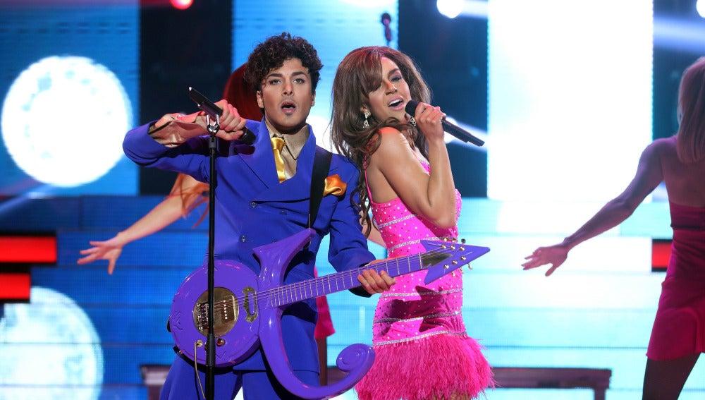 Blas Cantó y Roko, las estrellas del escenario como Prince y Beyoncé