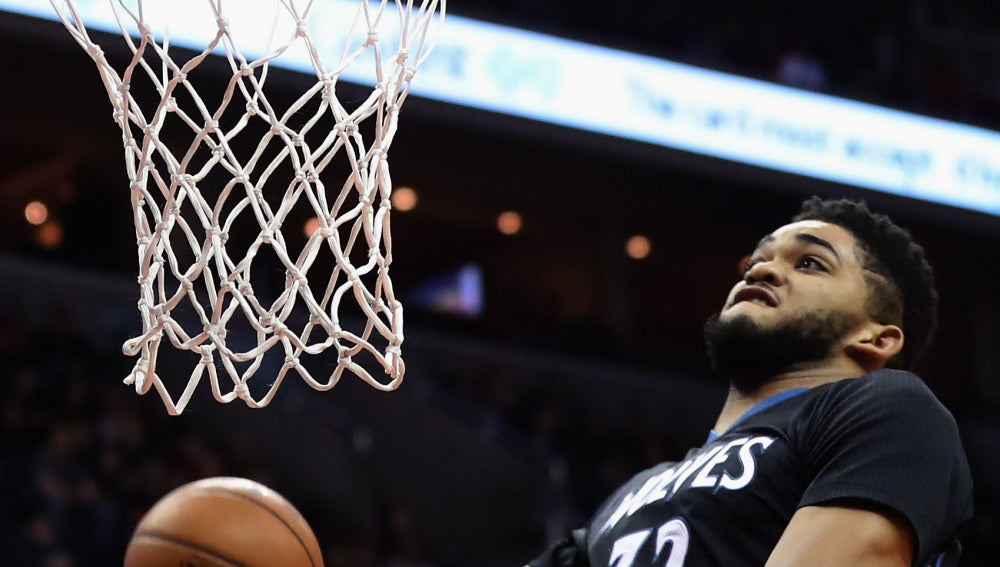 Karl Anthony Towns, dispuesto a hacer un mate