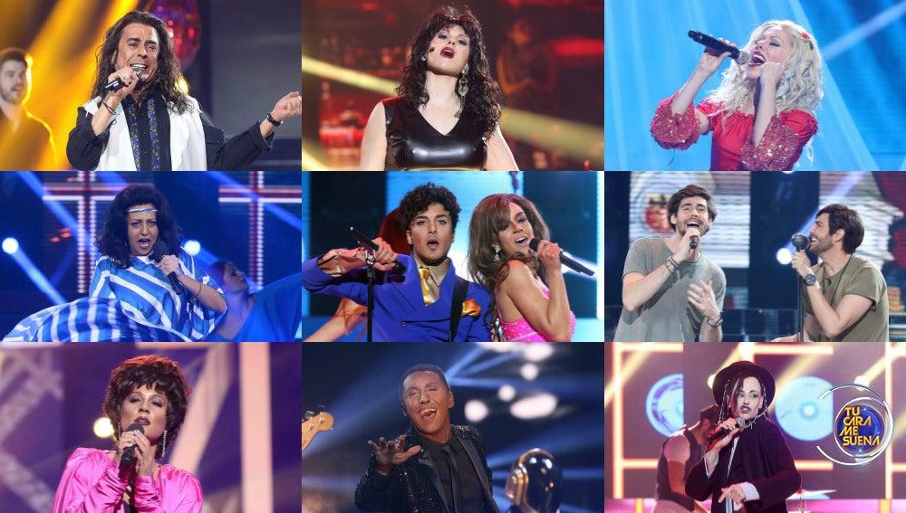 ¡Vota por la mejor actuación de la duodécima gala de 'Tu cara me suena'