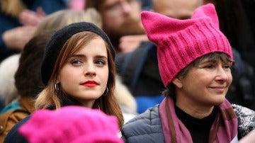 Emma Watson en la Marcha de las Mujeres