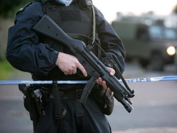 Un policía de Irlanda del Norte