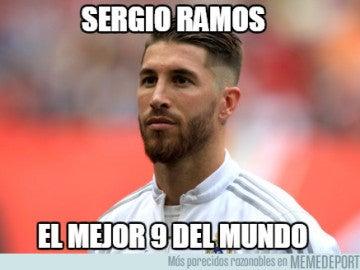 'Meme' de Sergio Ramos