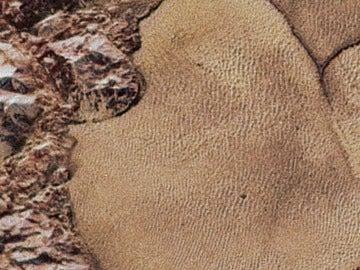 Así se ve Plutón