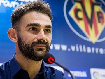 Adrián Lopez, jugador del Villarreal CF