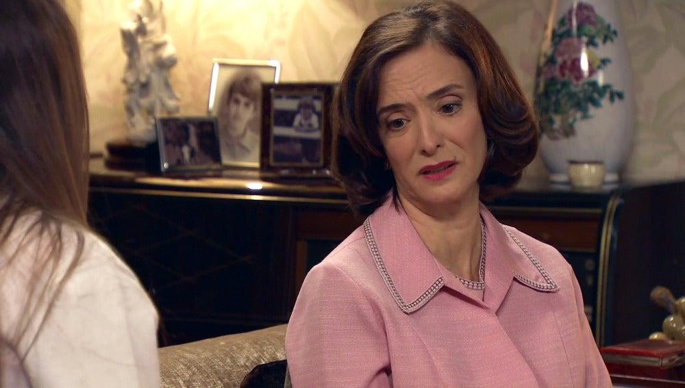 Rosalía se siente insegura con su cargo en los Novoa