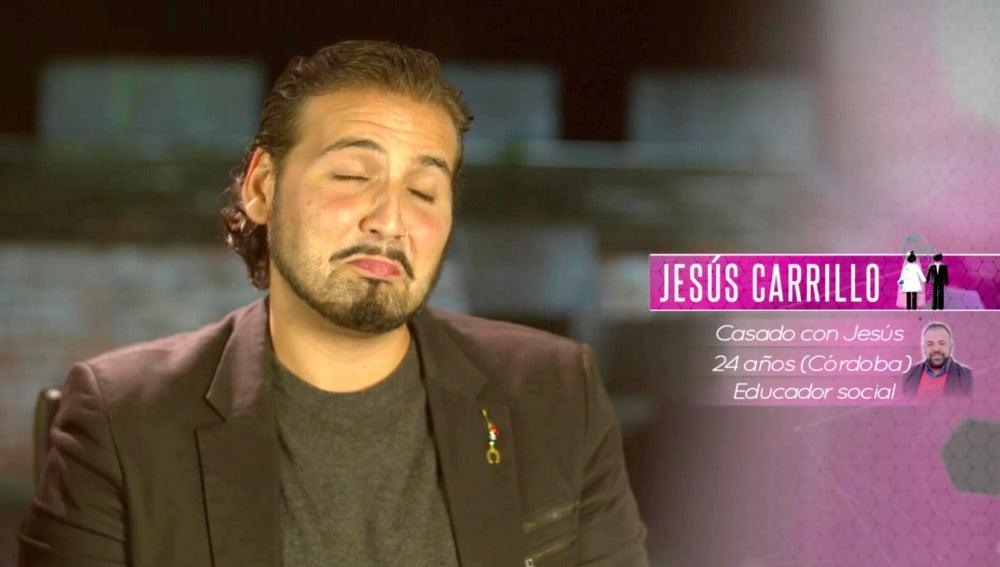 Jesús Carrillo, un marido caprichoso, mimoso y adicto al chocolate
