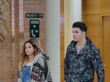 Gloria Camila y su novio, Kiko