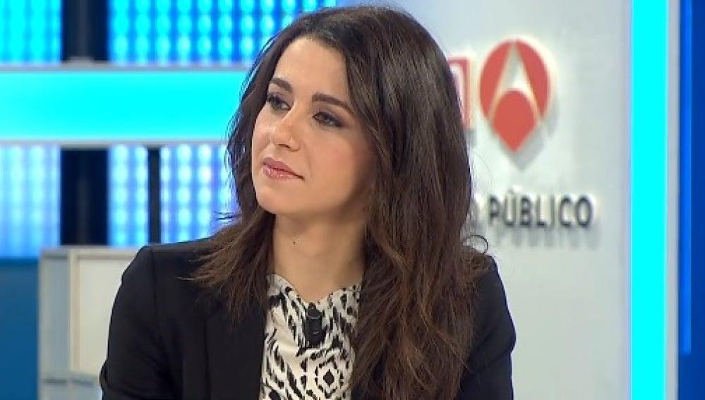 Inés Arrimadas, en Espejo Público