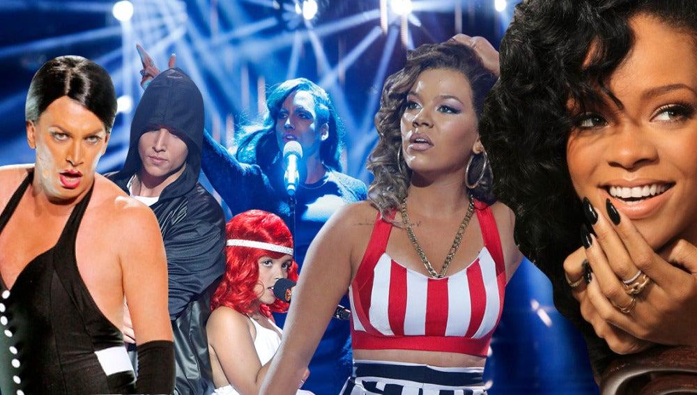 El espectacular paso de Rihanna por 'Tu cara me suena'