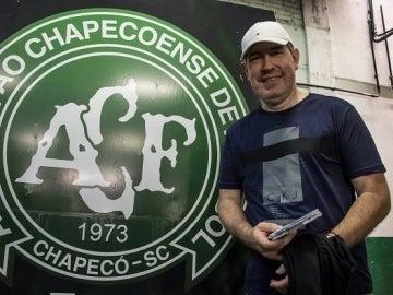 Rafael Henzel, periodista superviviente de la tragedia del Chapecoense.
