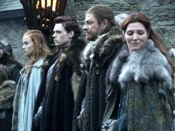 La familia Stark en la primera temporada de 'Juego de Tronos'