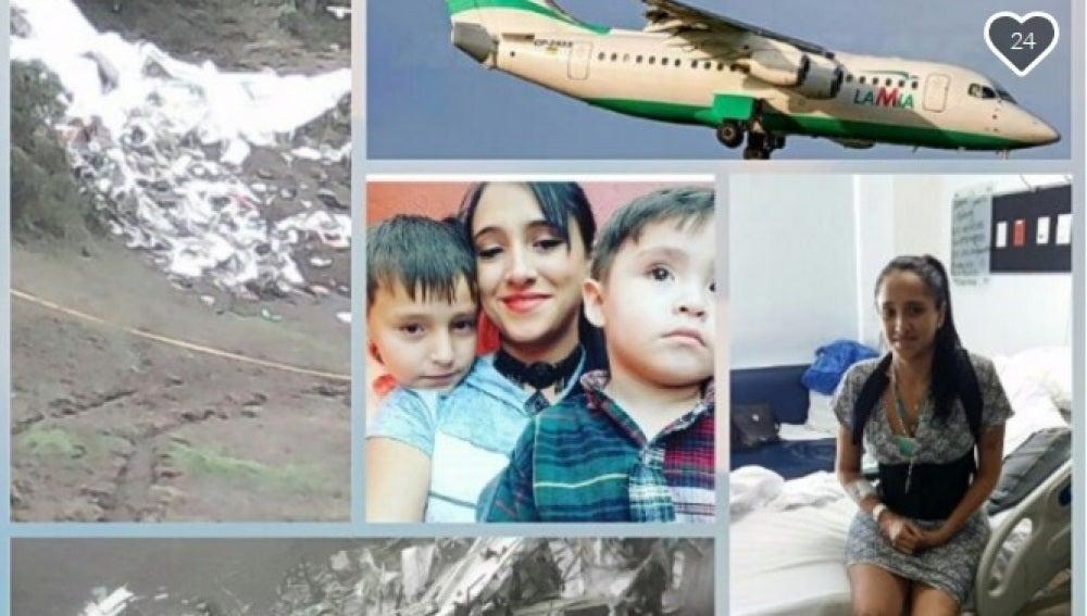 Ximena Suárez, la azafata que sobrevivió a la tragedia aérea del Chapecoense