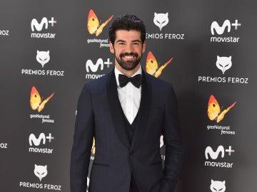 Un guapísimo Miguel Ángel Muñoz