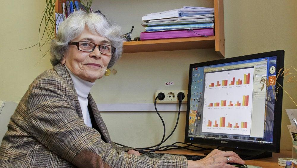 Tatiana Axenóvich, catedrática de Biología del ICG, que, junto a su equipo, ha identificado un gen que causa la depresión