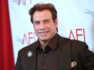 John Travolta en una de sus últimas apariciones públicas