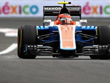 Esteban Ocon, en el GP de México