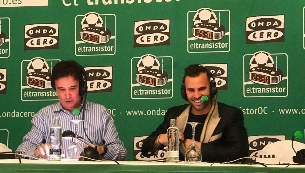 Jesé en El Transistor con José Ramón de la Morena