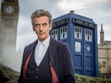 Peter Capaldi como 'Doctor Who'