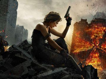 Milla Jovovich en 'Resident Evil: El capítulo final'