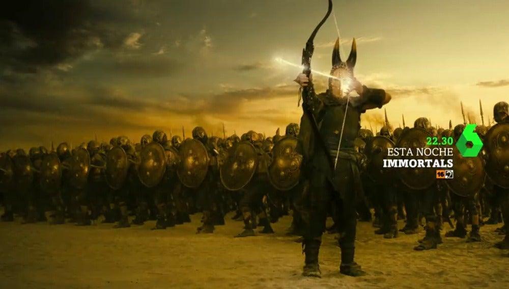 Frame 5.088 de: Henry Cavill protagoniza 'Inmortals', el cine de laSexta