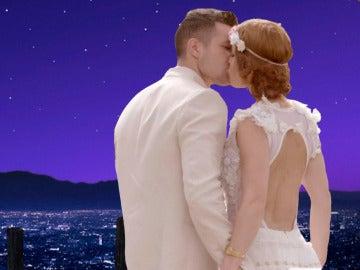 La banda sonora de 'La La Land' envuelve el romántico enlace de Samanta y Juan Diego